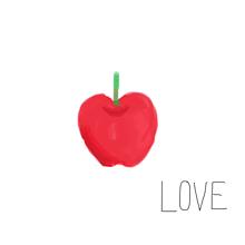 りんご。の画像(プリ画像)