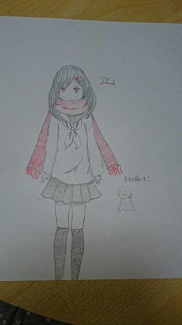 久々にアヤノ描いてみたの画像(プリ画像)