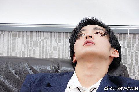 SnowMan微博Weibo保存の際は♡をの画像(プリ画像)