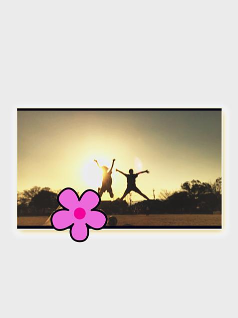 青春夕日の画像(プリ画像)