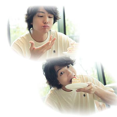  伊藤健太郎くん と ショートケーキ の画像(プリ画像)