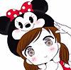 ディズニー女の子イラスト プリ画像