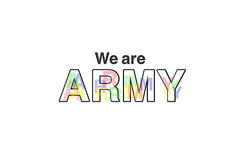 We are ARMYの画像(プリ画像)