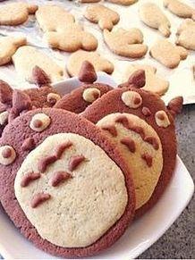 トトロ【お菓子】の画像(プリ画像)