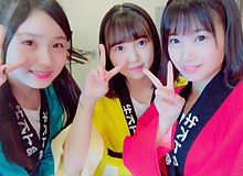 HKT48 AKB48 荒巻美咲 山内祐奈 朝長美桜の画像(山内祐奈に関連した画像)