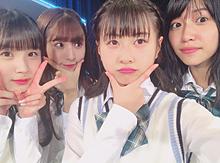 HKT48 荒巻美咲 栗原紗英 松岡はな 山下エミリーの画像(山下エミリーに関連した画像)