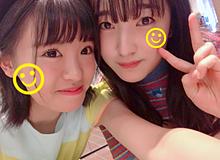 HKT48 外薗葉月 田島芽瑠の画像(プリ画像)