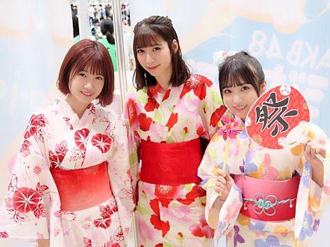 HKT48 AKB48 朝長美桜 松岡菜摘 矢吹奈子の画像 プリ画像
