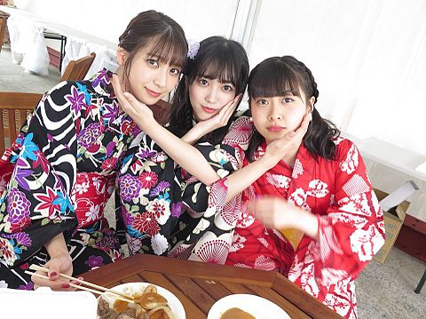 HKT48 AKB48 松岡菜摘 矢吹奈子 松岡はなの画像(プリ画像)