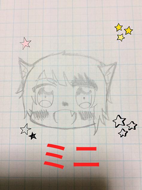ミニキャラの画像(プリ画像)