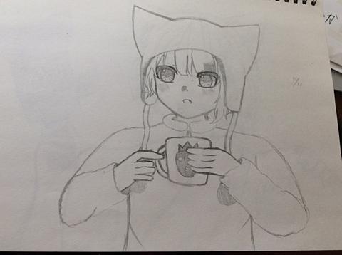 キャンプの時に描いた☆の画像(プリ画像)