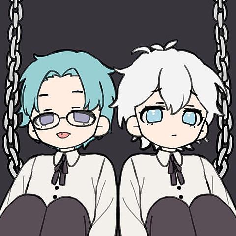 双子コテキャの画像(プリ画像)