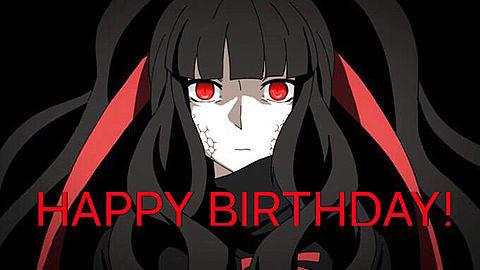 アザミんHAPPY BIRTHDAY!の画像(プリ画像)