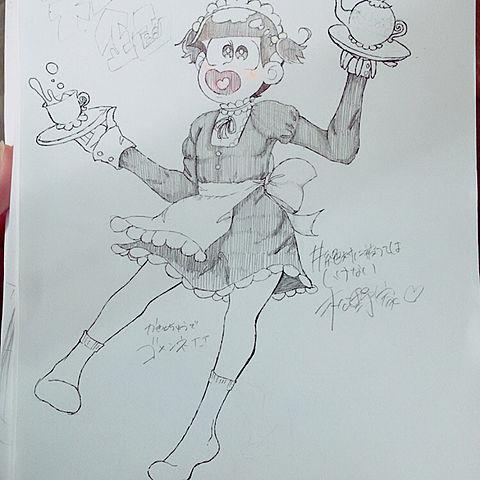 #絶対に被ってはいけない松野家の画像(プリ画像)