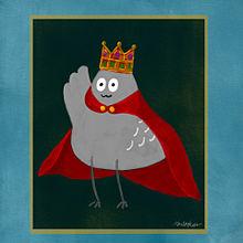 ハト王の画像(雑貨に関連した画像)