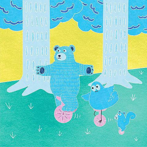 ハトくんと森の友達の画像 プリ画像