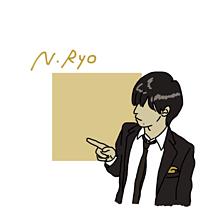 Re ) ∞AKARI♡ サマの画像(錦戸 亮 イラストに関連した画像)
