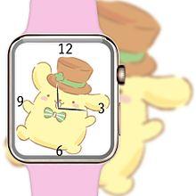 ポムポムプリンで腕時計加工してみた(öᴗ<๑)の画像(時計に関連した画像)