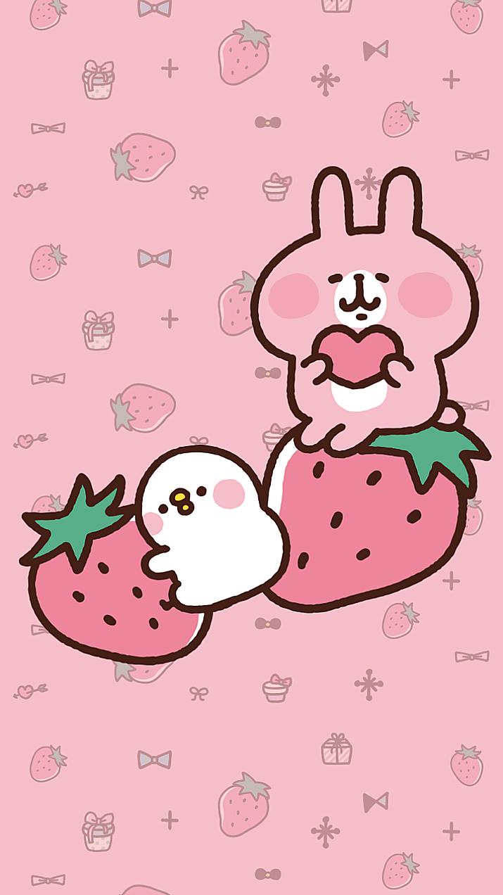 カナヘイとイチゴ