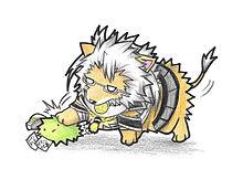 マリモ提督と武蔵子ライオンの画像(武蔵に関連した画像)