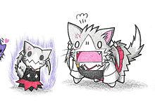 ミミッキュと瑞鶴ネコ プリ画像
