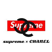 supreme × CHANELの画像(プリ画像)