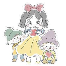 白雪姫の画像(ディズニーランド イラストに関連した画像)