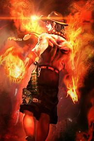 火けんーの画像(ワンピースエースに関連した画像)