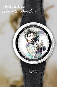 羽生結弦のイラストで腕時計加工してみた(*ˊᵕˋ*)の画像(羽生結弦に関連した画像)