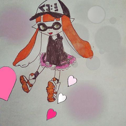 スプラのガール!の画像(プリ画像)