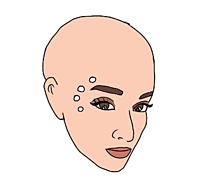 ArianaGrandeスキンヘッドの画像(スキンヘッドに関連した画像)
