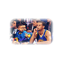 NBA カリー 親子の画像(プリ画像)