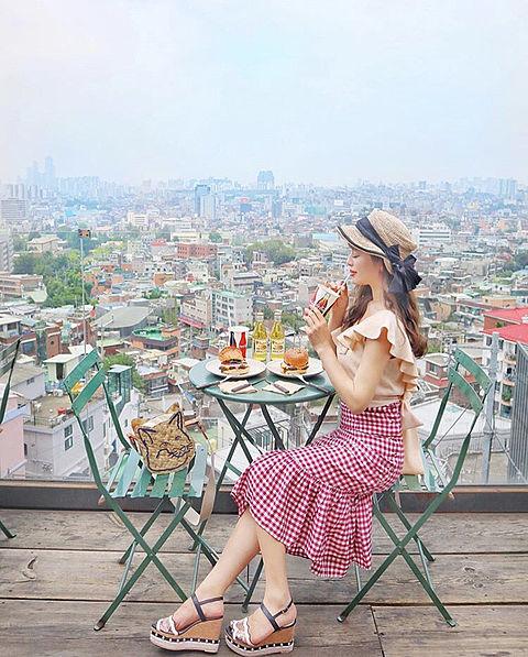夏コーデ(韓国旅行)の画像 プリ画像