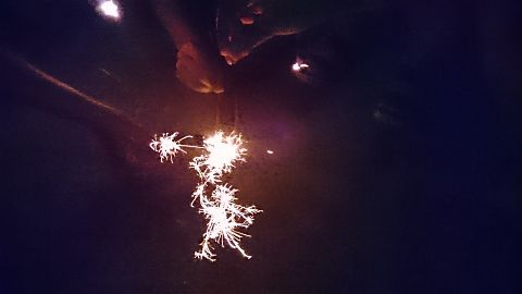 線香花火の画像(プリ画像)