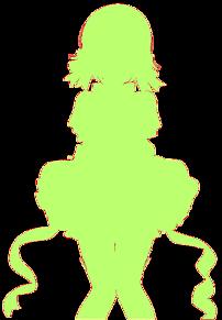 小泉花陽シルエットの画像(プリ画像)
