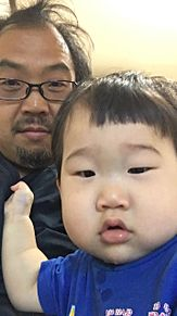 息子とツーショットの画像(ツーショに関連した画像)