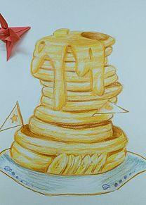 イラスト ホット ケーキ