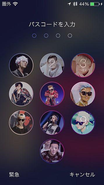 G-DRAGON in iPhoneの画像(プリ画像)