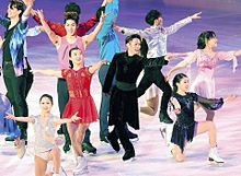 フィギアスケート全日本選手権エキシビション プリ画像