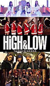 HiGH&LOW壁紙!の画像(プリ画像)