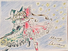 Merry Christmasの画像(霧雨魔理沙に関連した画像)