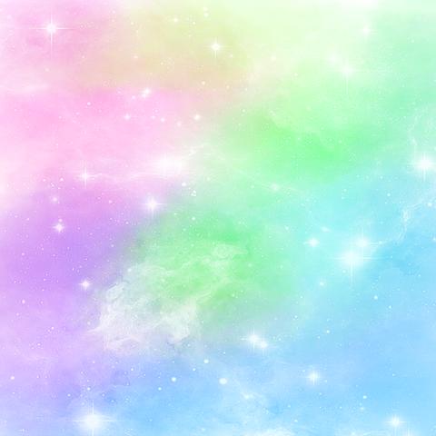 カラフルなお空の画像(プリ画像)