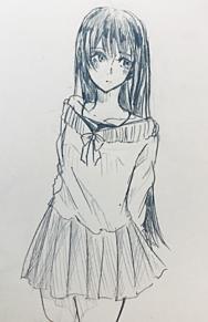らきゅがきの画像(女の子イラストに関連した画像)