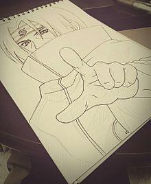 下書き NARUTO イタチさんの画像(プリ画像)