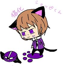 猫化したショッピくん プリ画像
