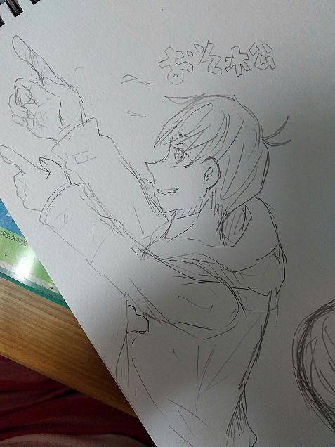 おそ松さん自分絵の画像(プリ画像)