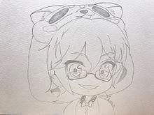 ぽんちゃん描いてみた2の画像(ホラーゲームに関連した画像)