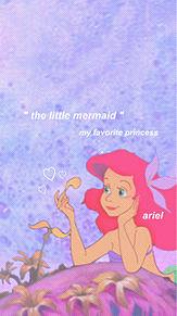 アリエル ロック画の画像(ディズニー/Disneyに関連した画像)