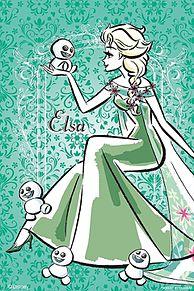 アナと雪の女王 アナ エルサ ディズニー イラストの画像144点 完全