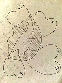溢れ出る スキの画像(はーと/ハート/英語に関連した画像)